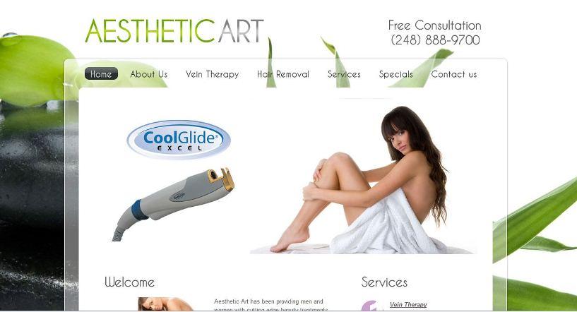 Website aesthetic